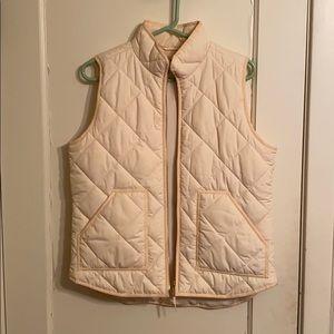 JCrew Cream Vest